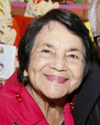 Dolores Huerta Headshot