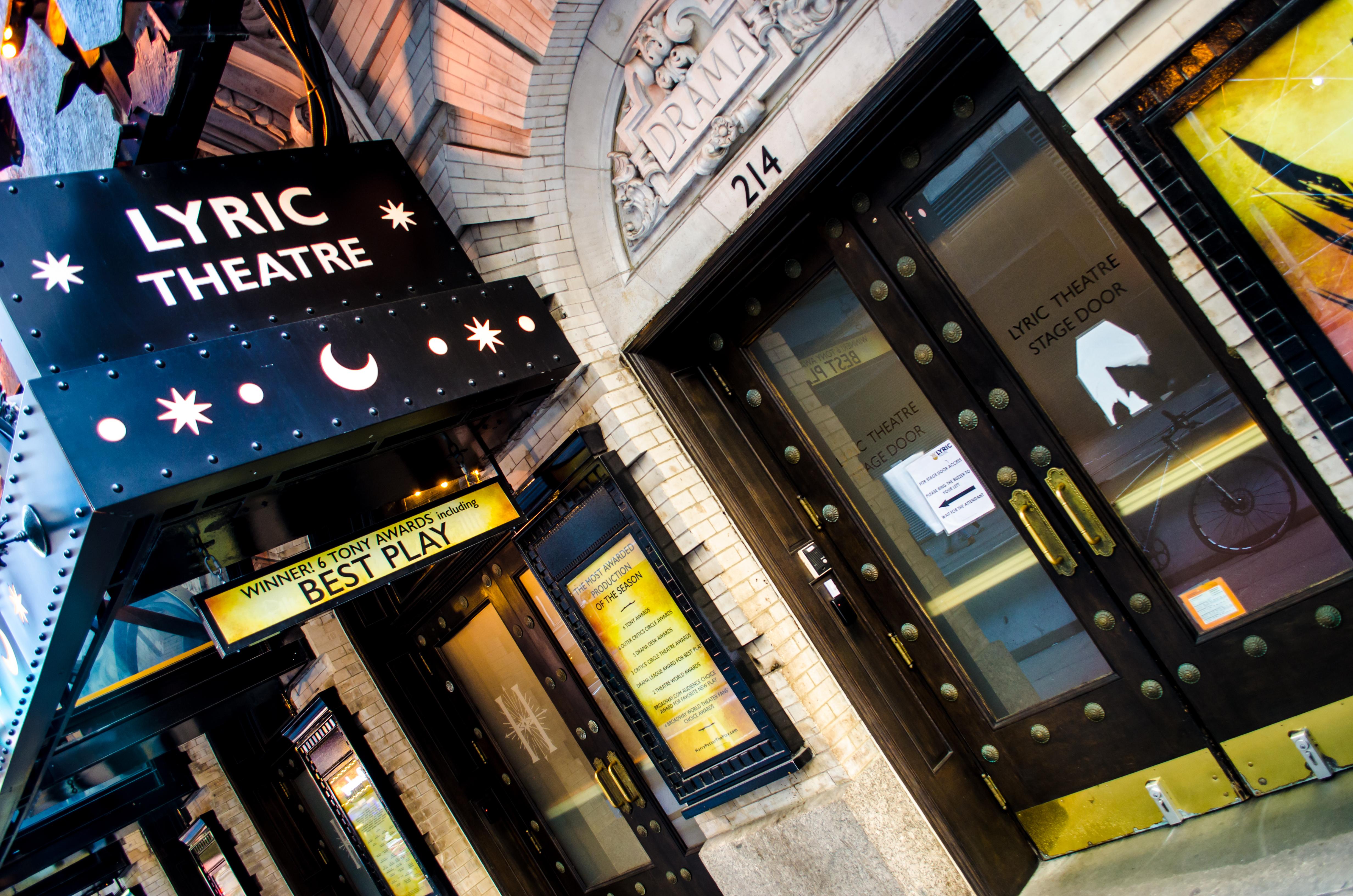 Lyric Theatre (Broadway) - Theater Information Stage Door