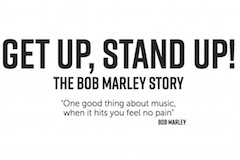 Get Up, Stand Up! The Bob Marley Story Logo