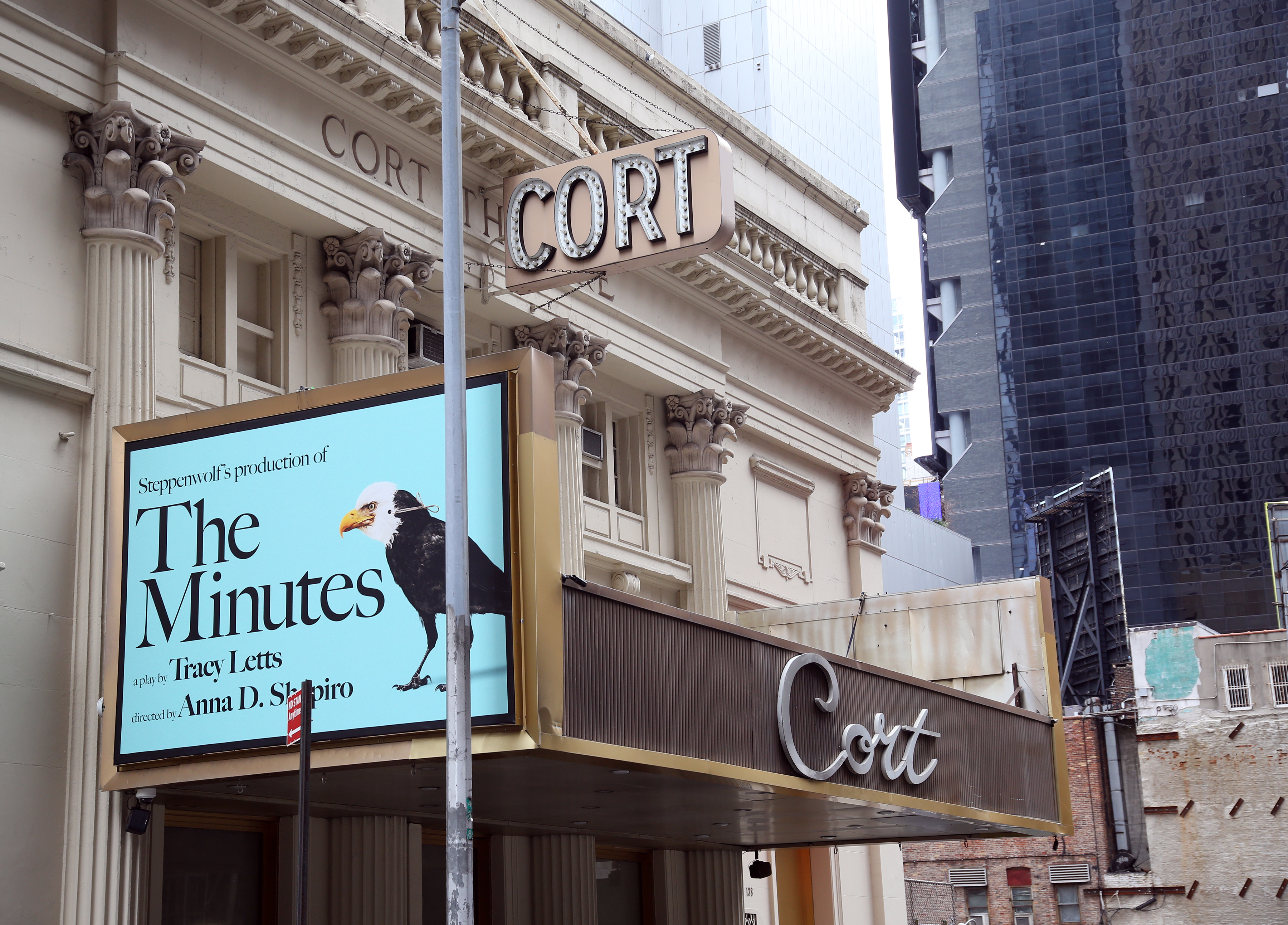Cort Theatre (Broadway) - Theater Information Marquee