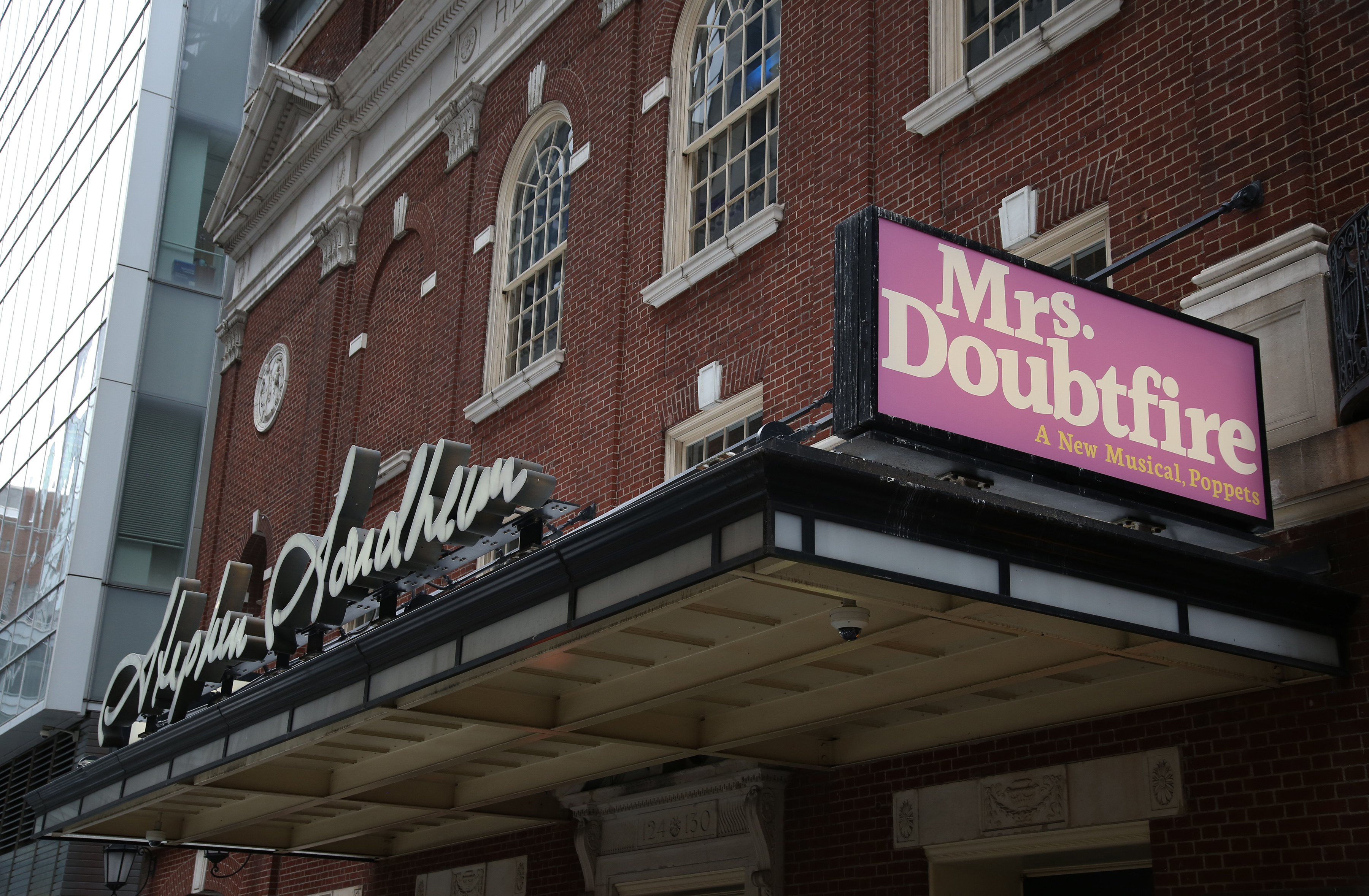 Stephen Sondheim Theatre (Broadway) - Theater Information Marquee
