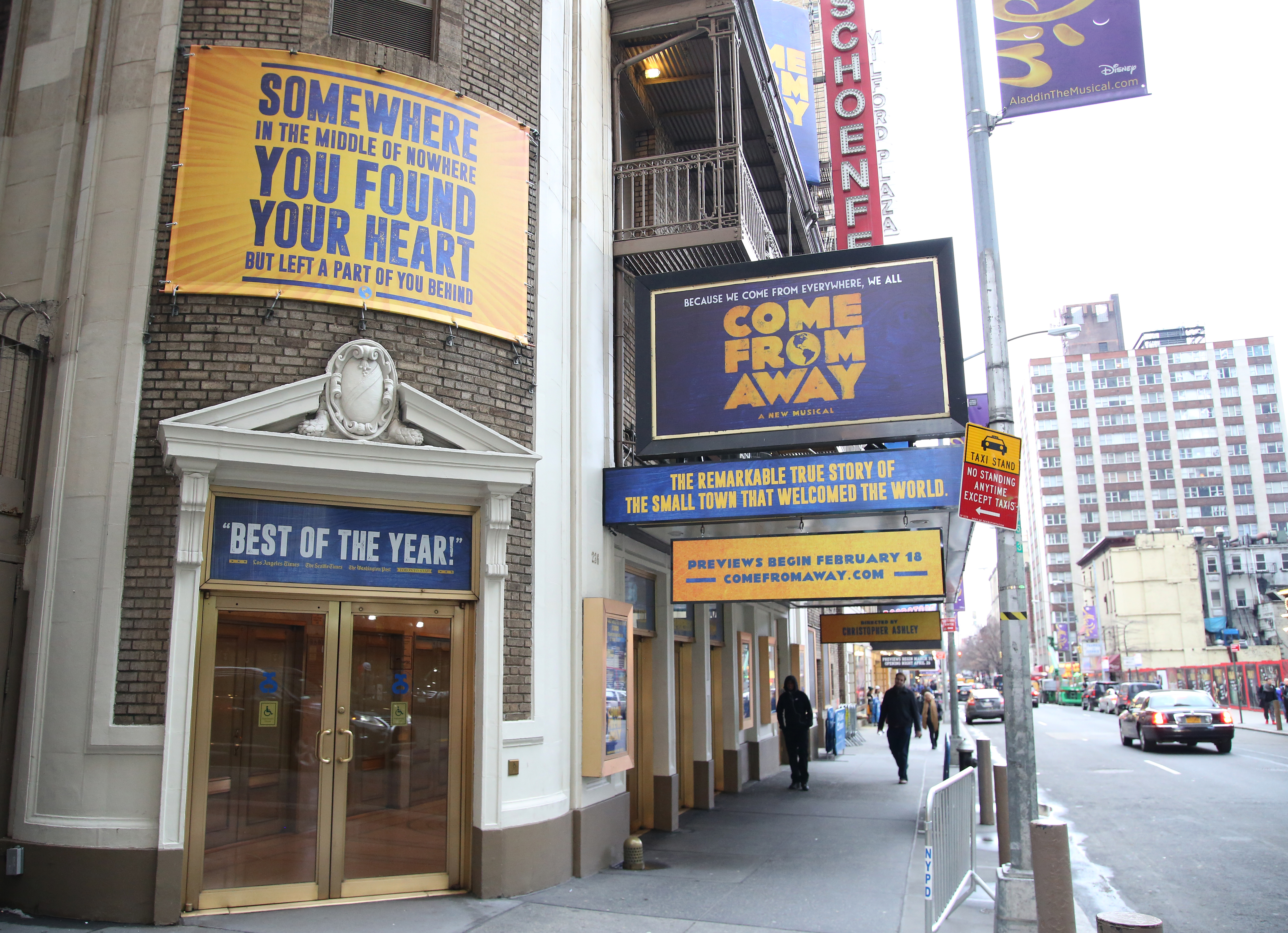 Gerald Schoenfeld Theatre (Broadway) - Theater Information Marquee