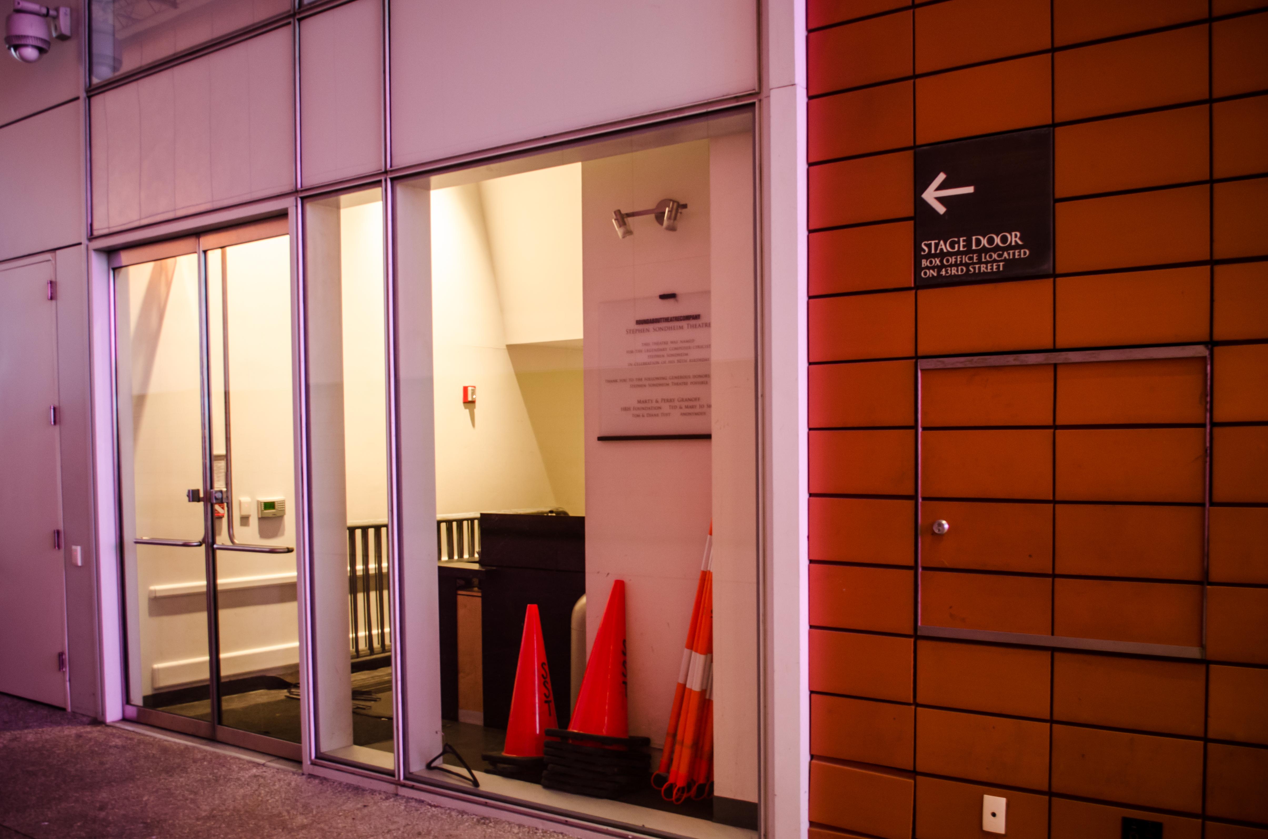 Stephen Sondheim Theatre (Broadway) - Theater Information Stage Door