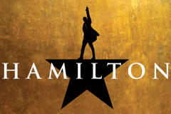 Hamilton (Angelica Company Second National Tour) Logo