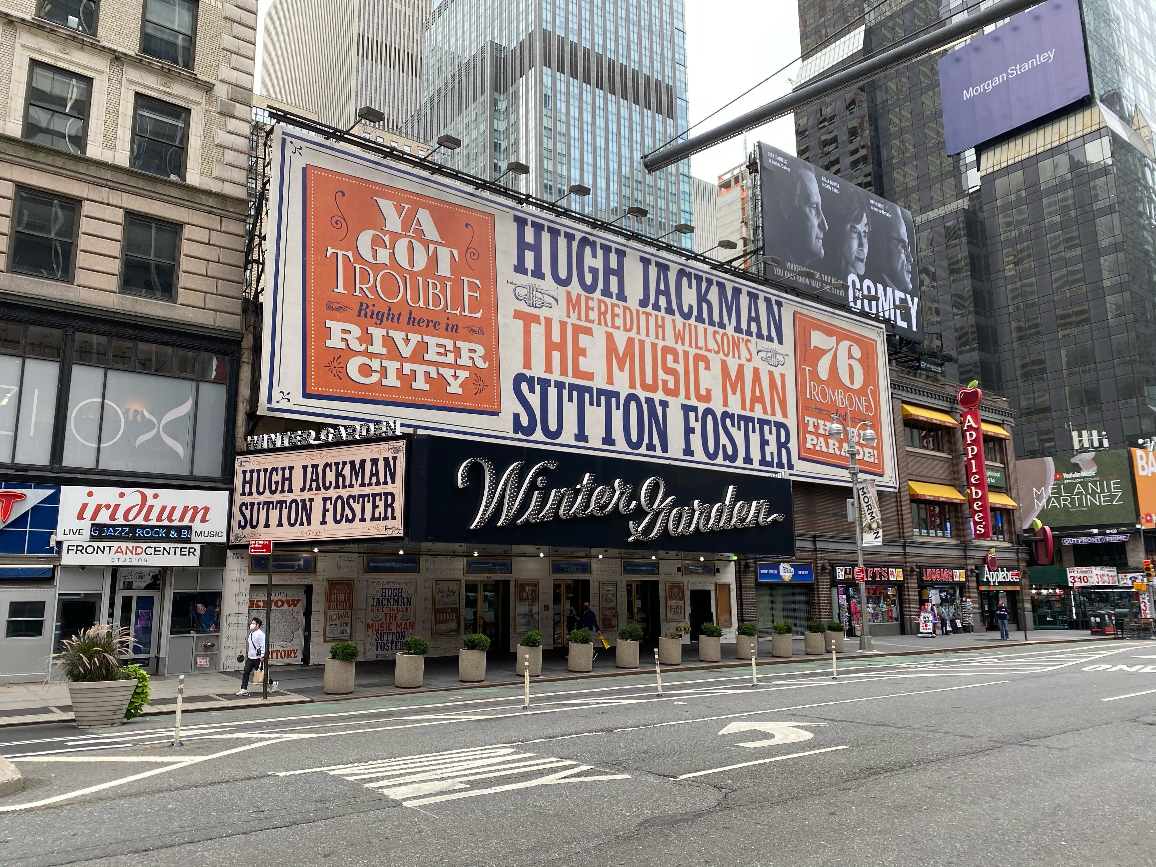 Winter Garden Theatre (Broadway) - Theater Information Marquee