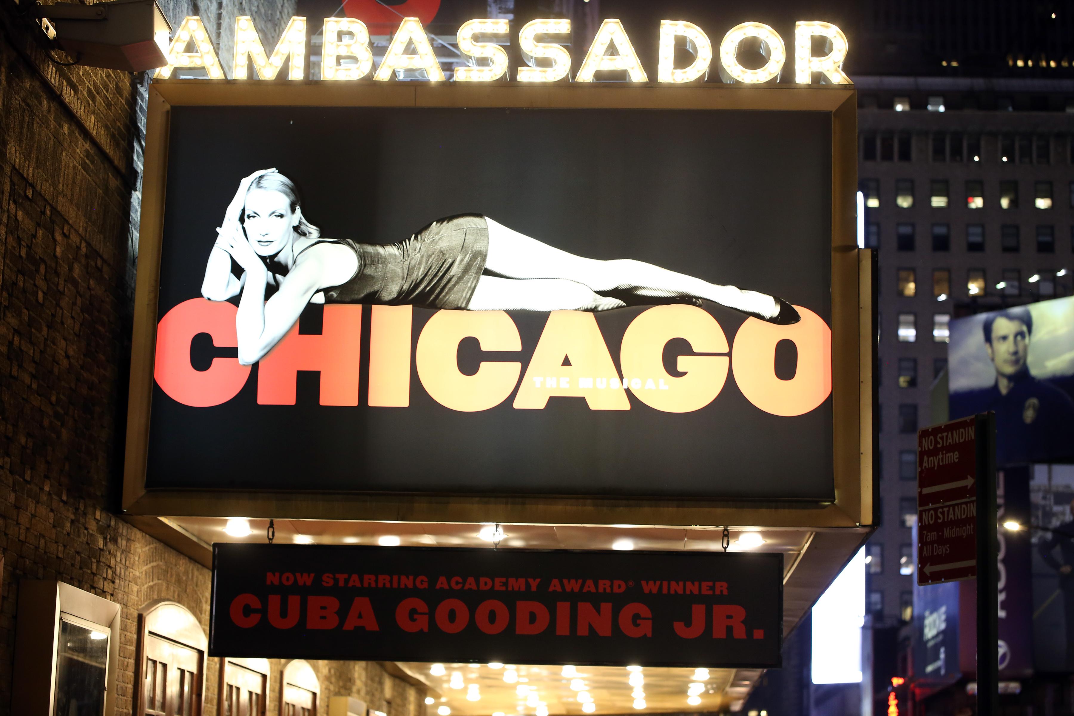 Ambassador Theatre (Broadway) - Theater Information Marquee