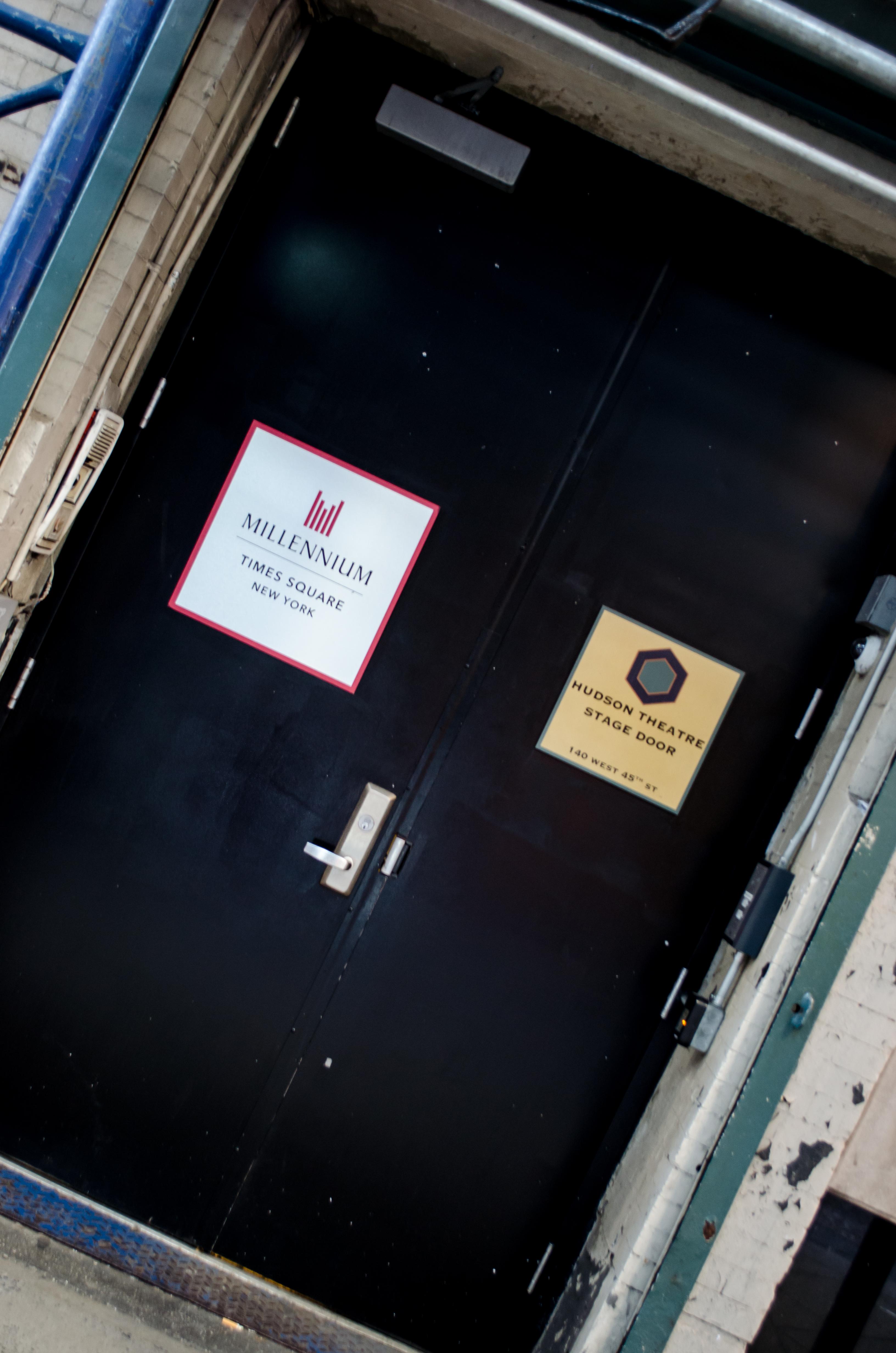Hudson Theatre (Broadway) - Theater Information Stage Door