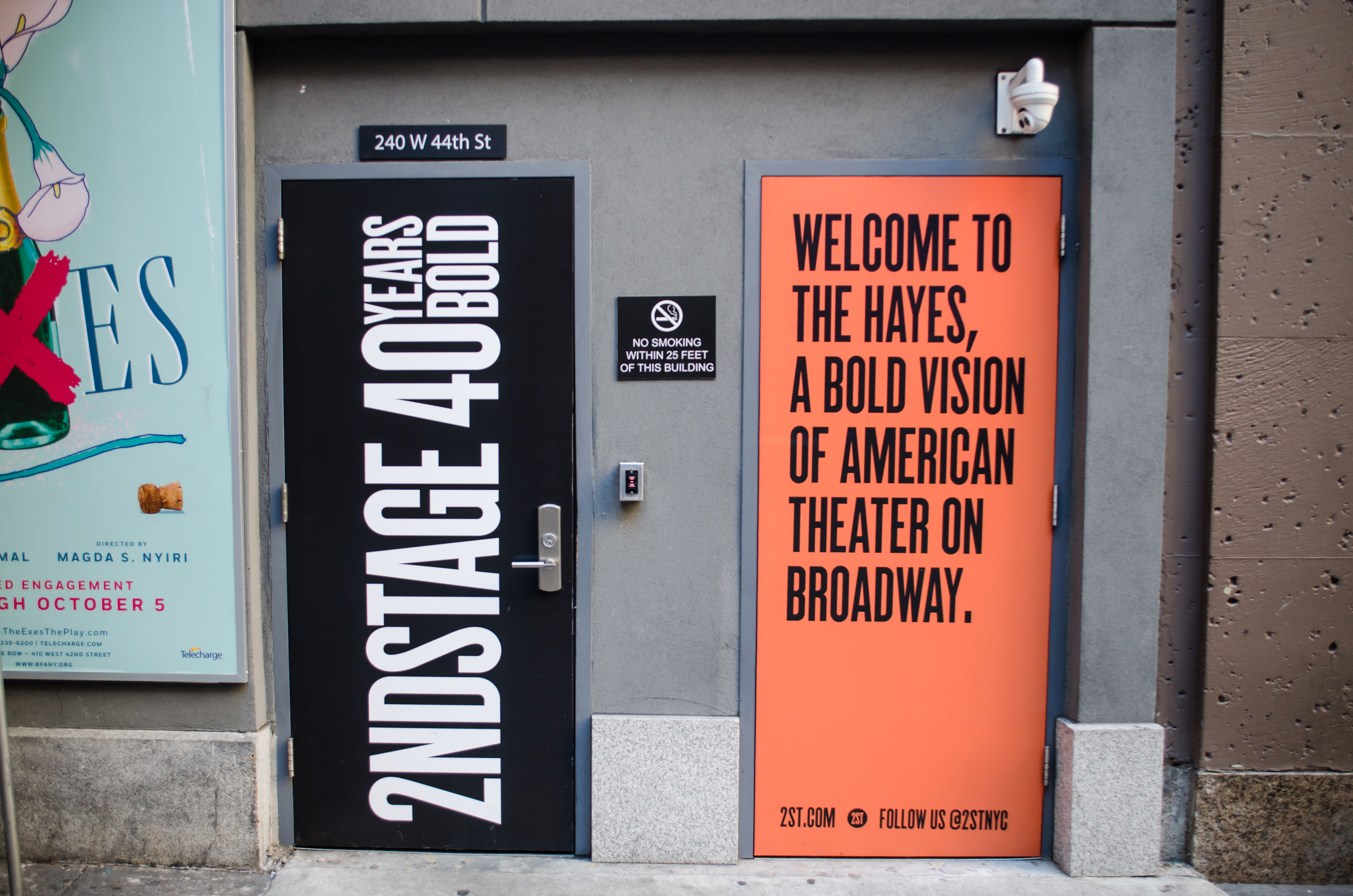 Hayes Theatre (Broadway) - Theater Information Stage Door