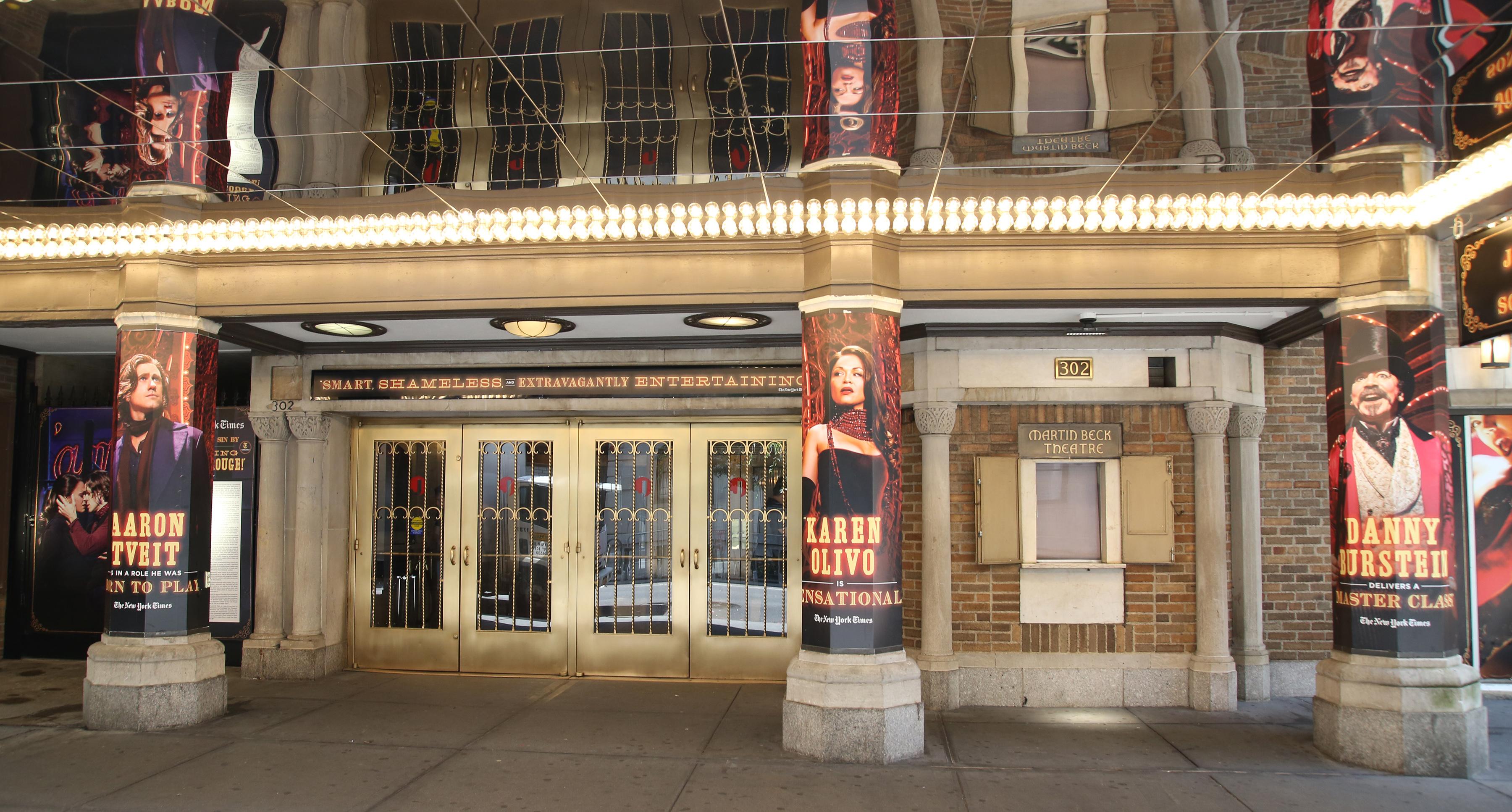 Al Hirschfeld Theatre (Broadway) - Theater Information Marquee