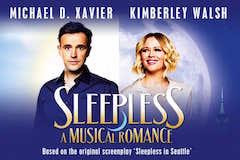 Sleepless, A Musical Romance Logo