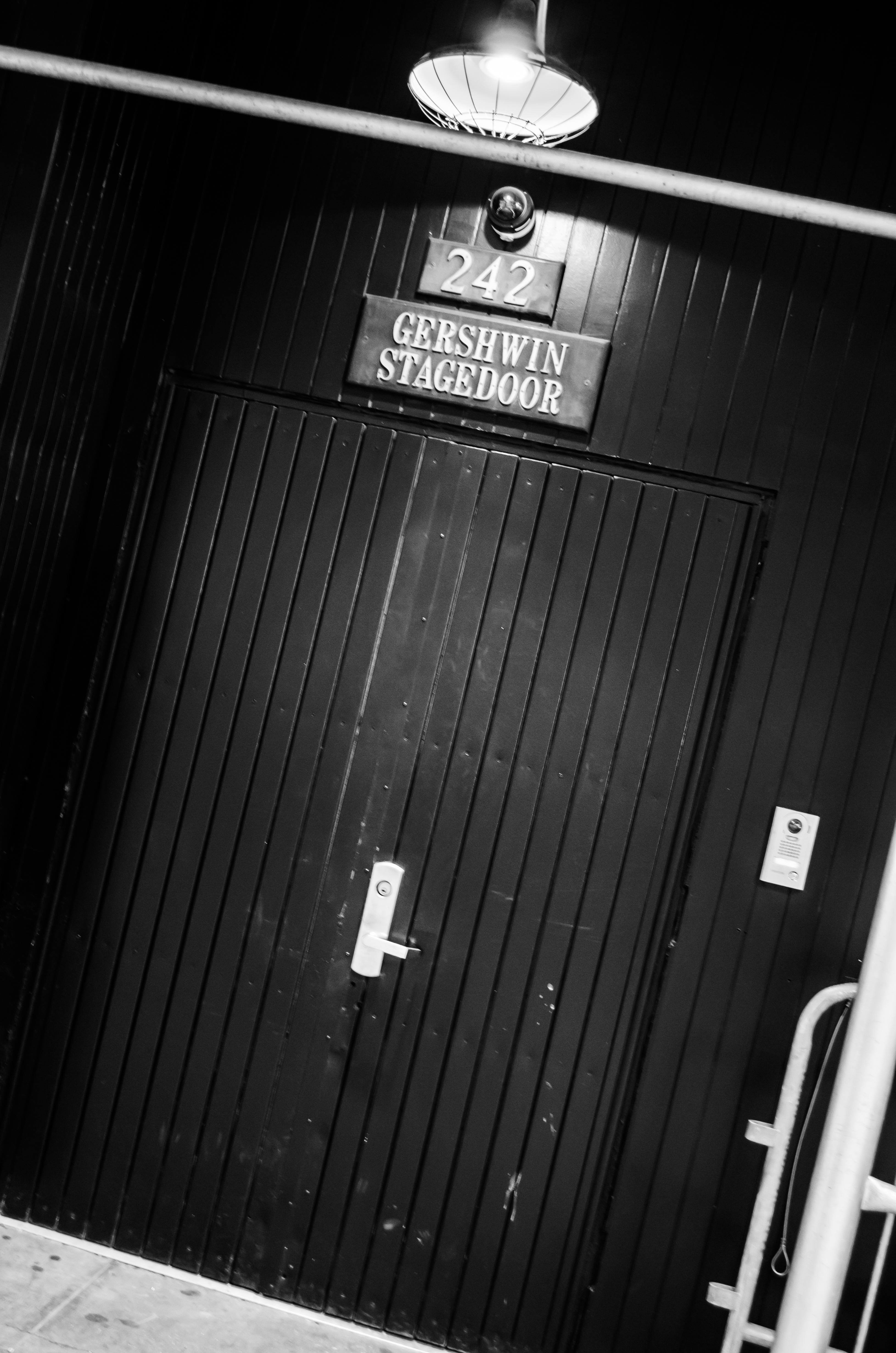 Gershwin Theatre (Broadway) - Theater Information Stage Door