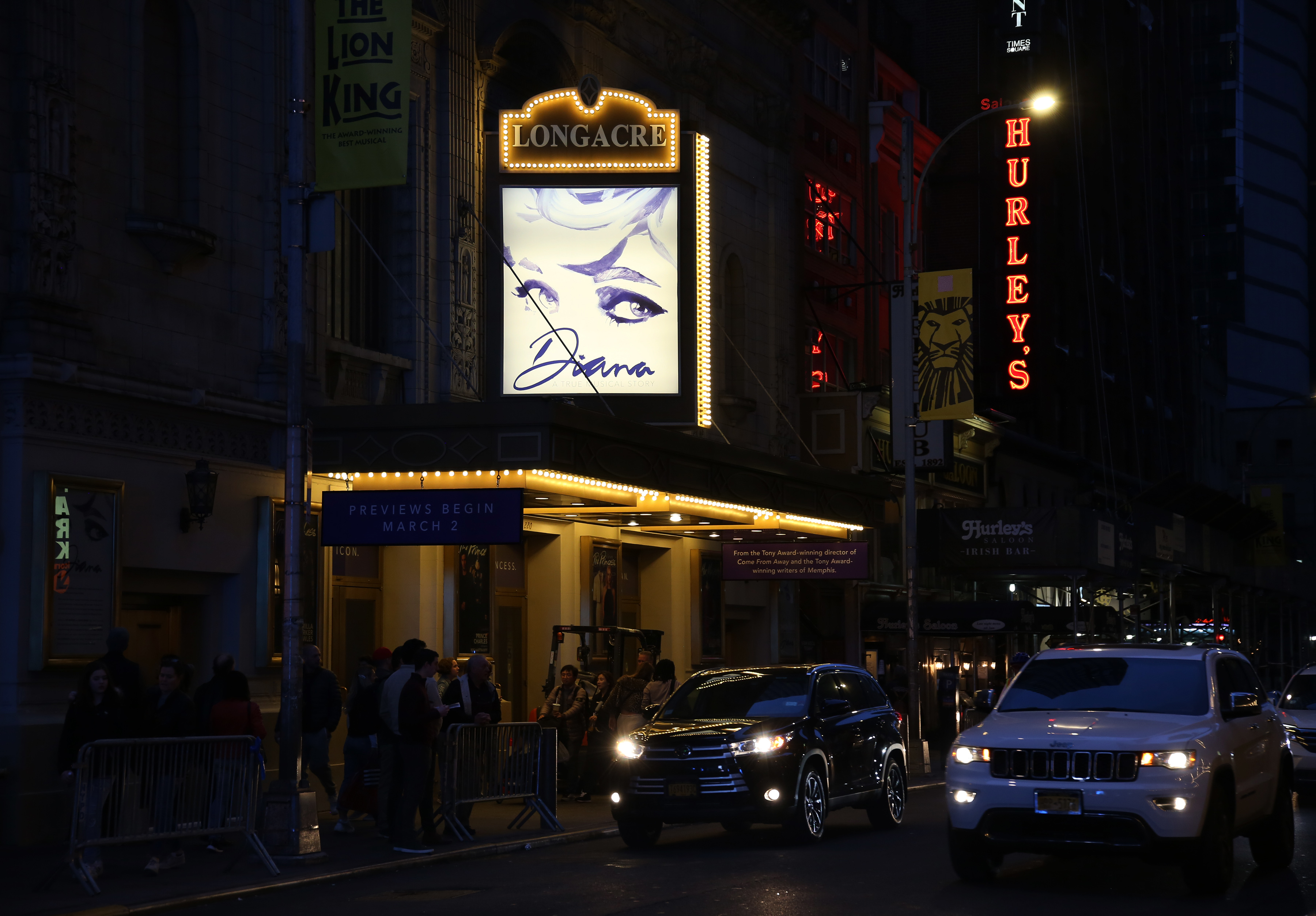 Longacre Theatre (Broadway) - Theater Information Marquee