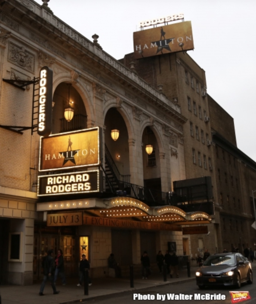Richard Rodgers Theatre (Broadway) - Theater Information Marquee