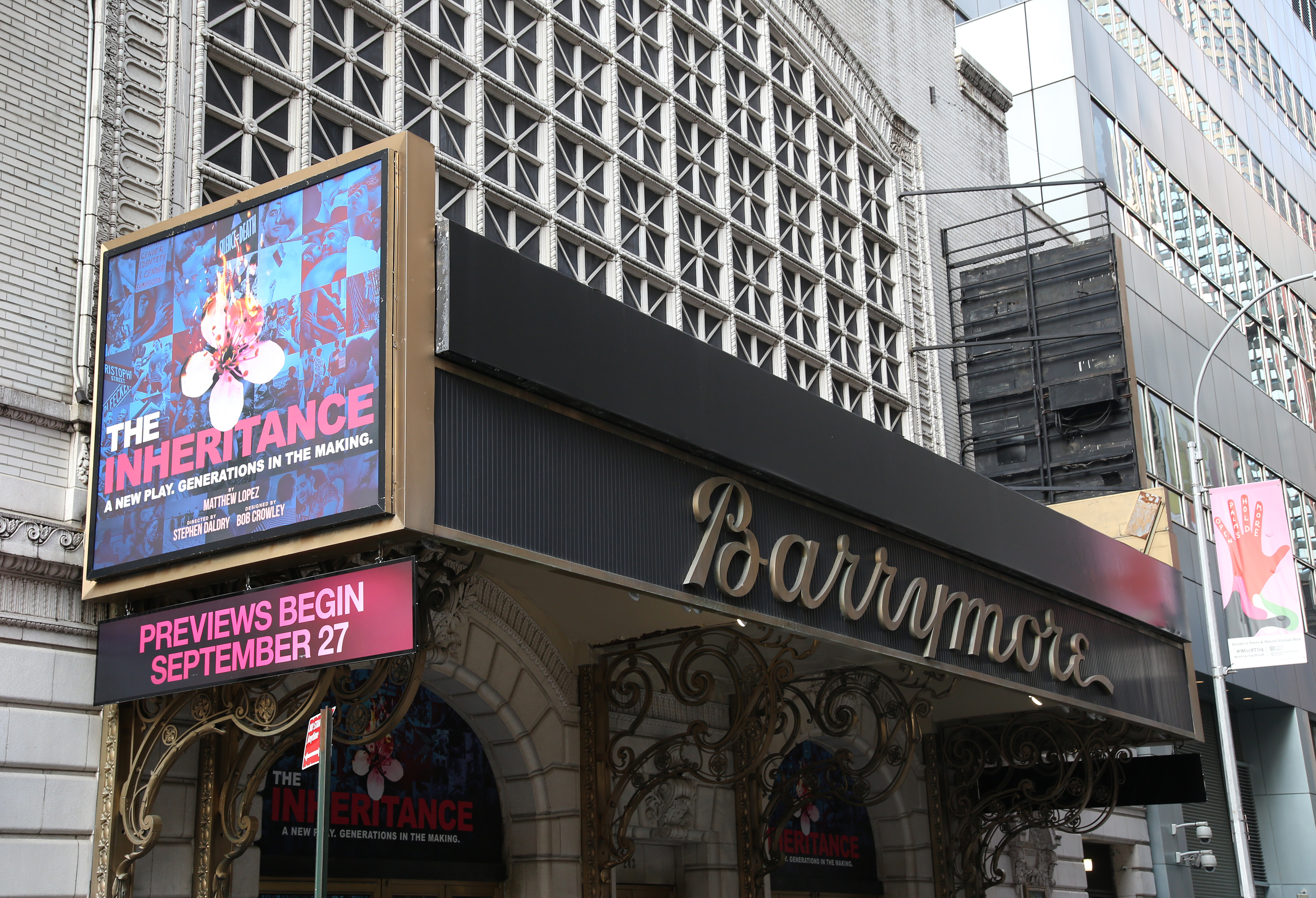 Ethel Barrymore Theatre (Broadway) - Theater Information Marquee