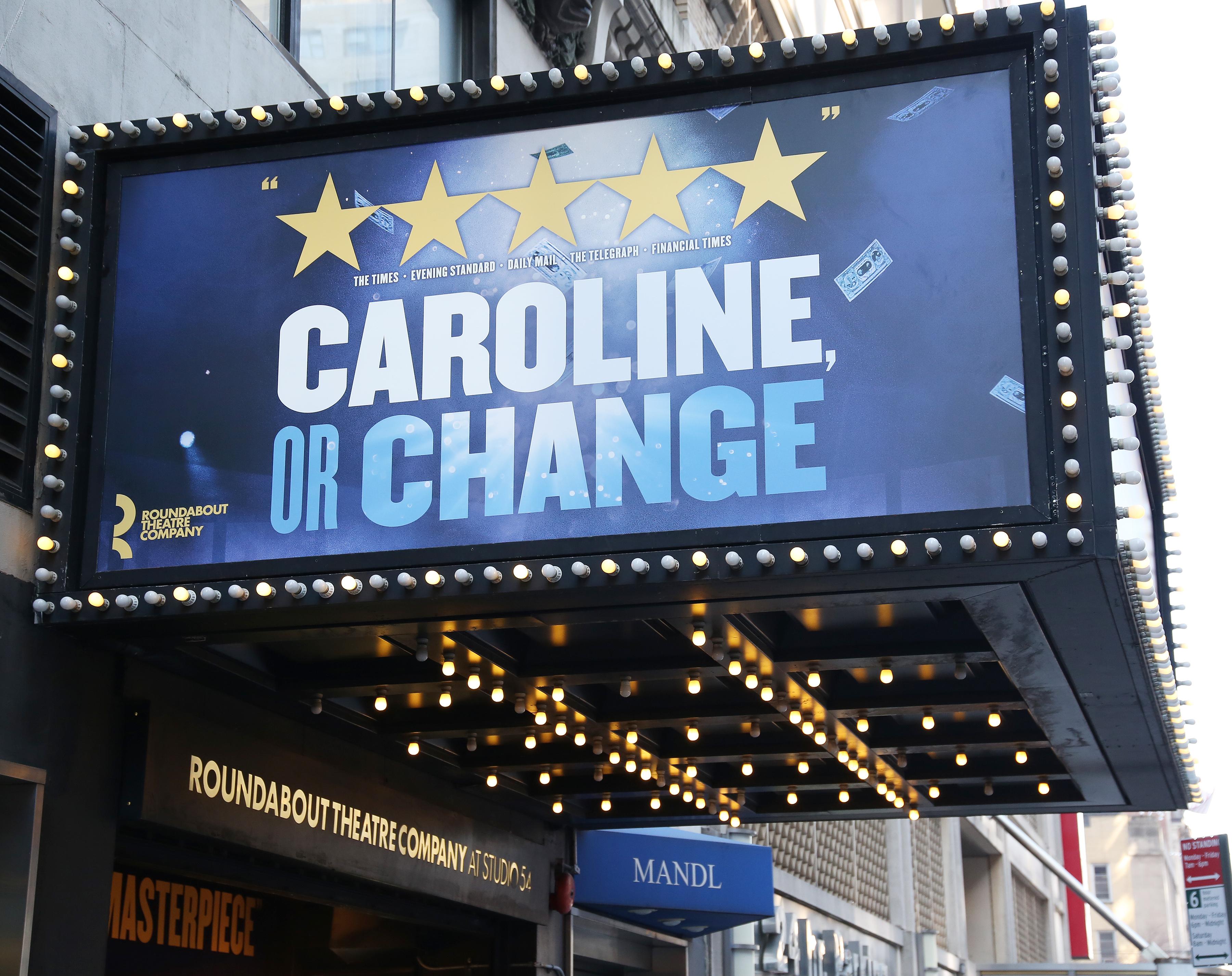 Studio 54 (Broadway) - Theater Information Marquee