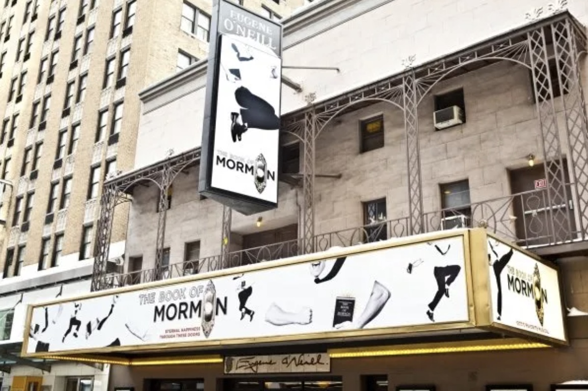 Eugene O'Neill Theatre (Broadway) - Theater Information Marquee
