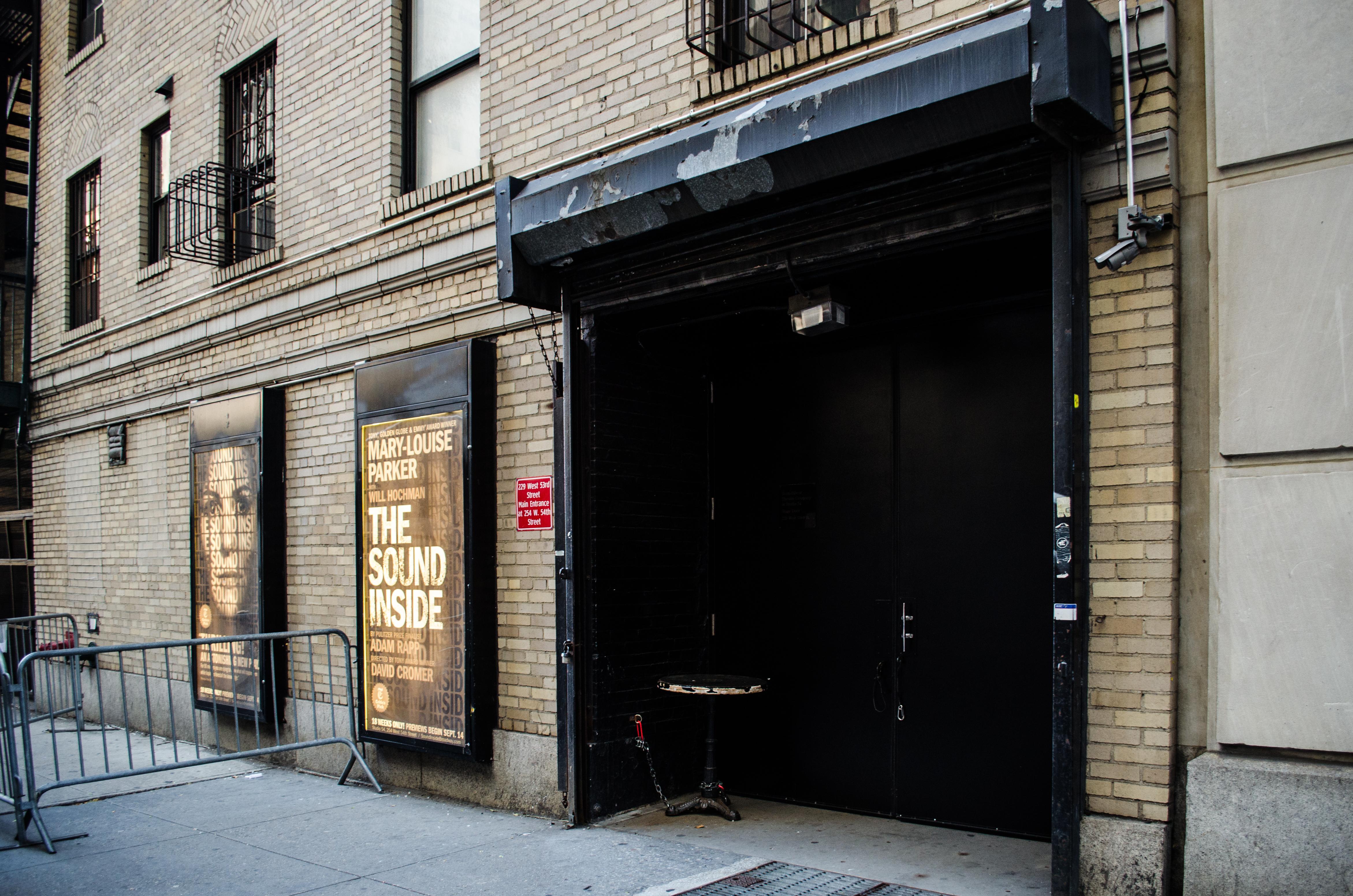 Studio 54 (Broadway) - Theater Information Stage Door