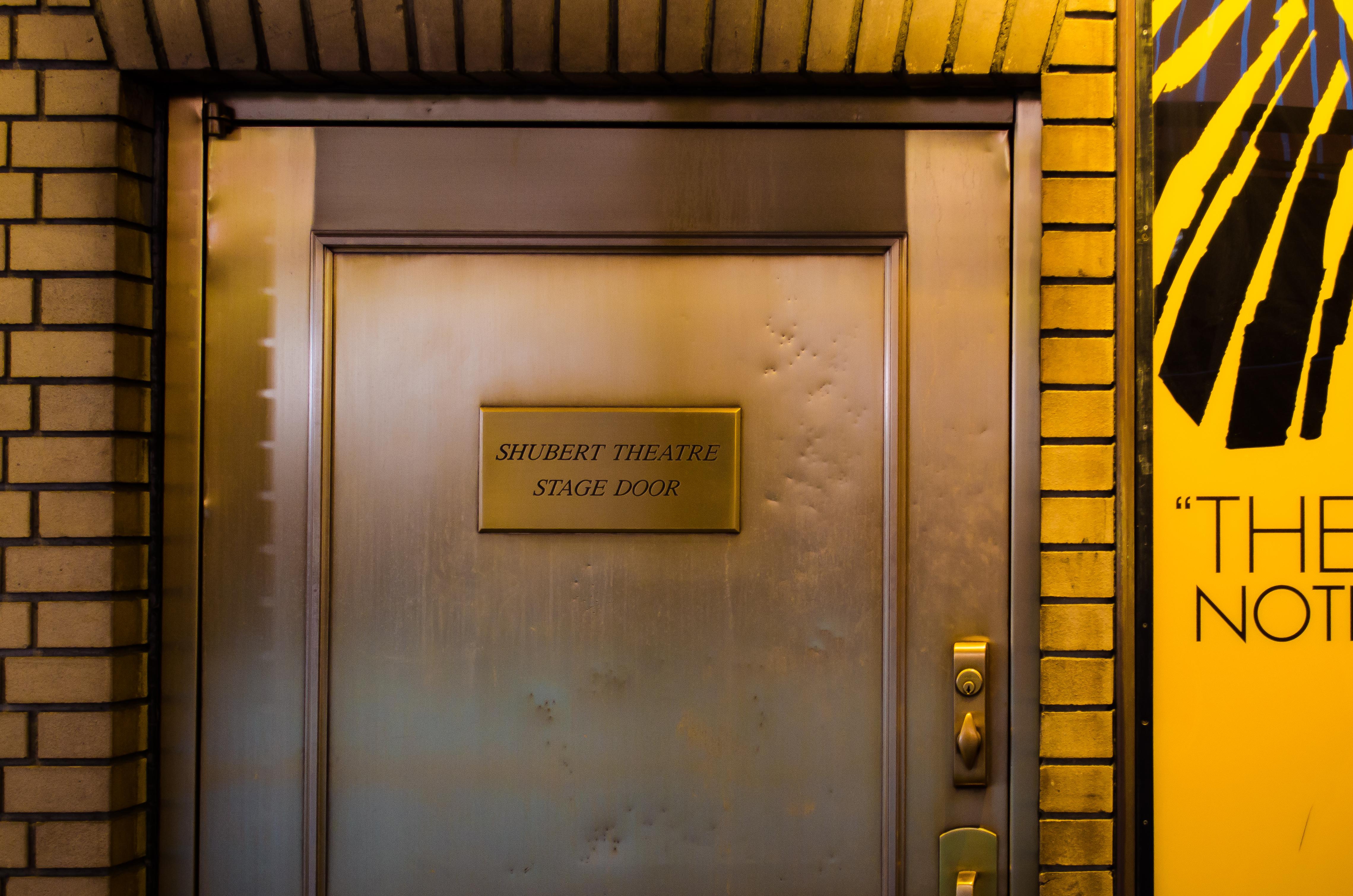 Shubert Theatre (Broadway) - Theater Information Stage Door