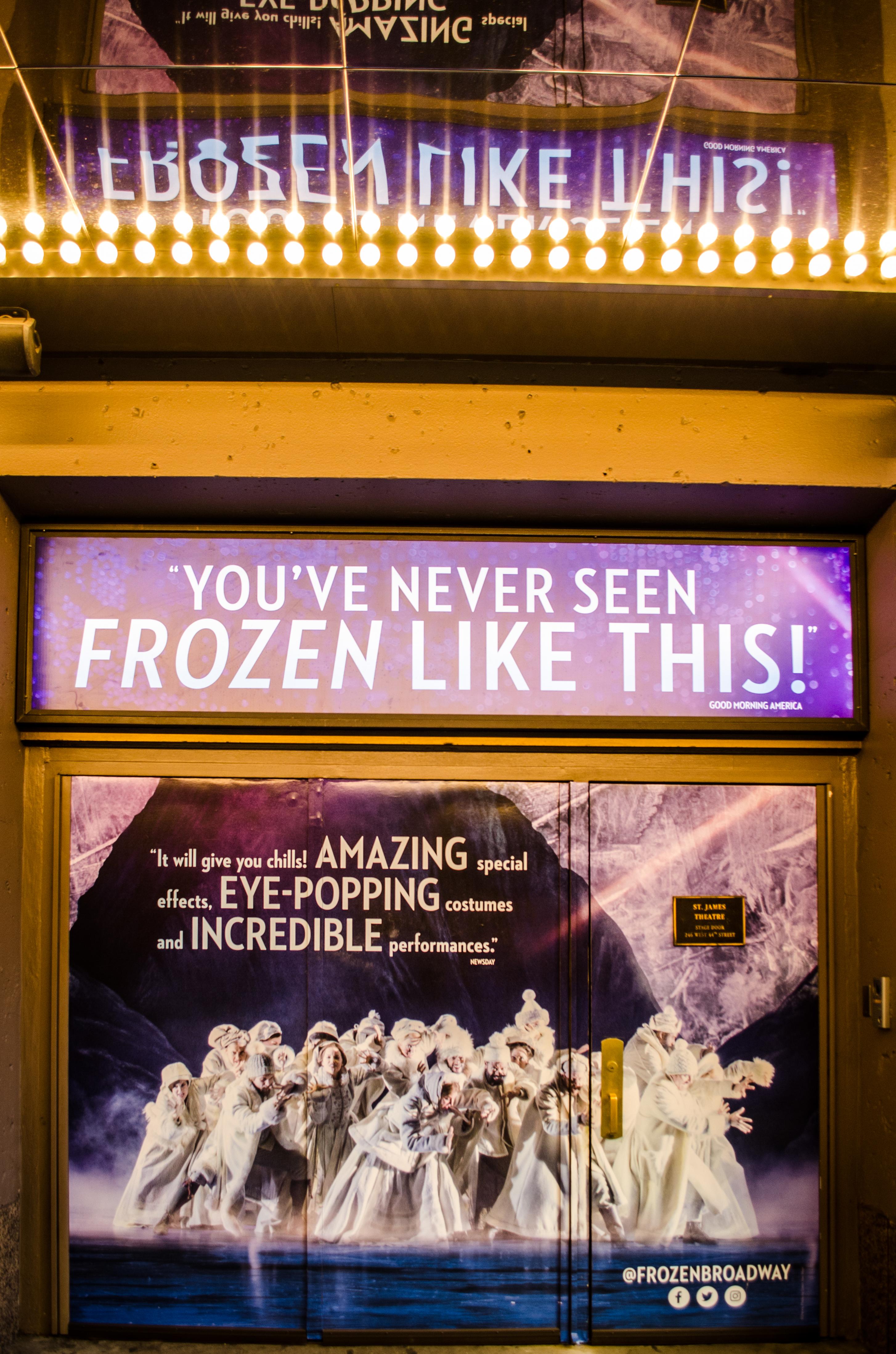 St. James Theatre (Broadway) - Theater Information Stage Door