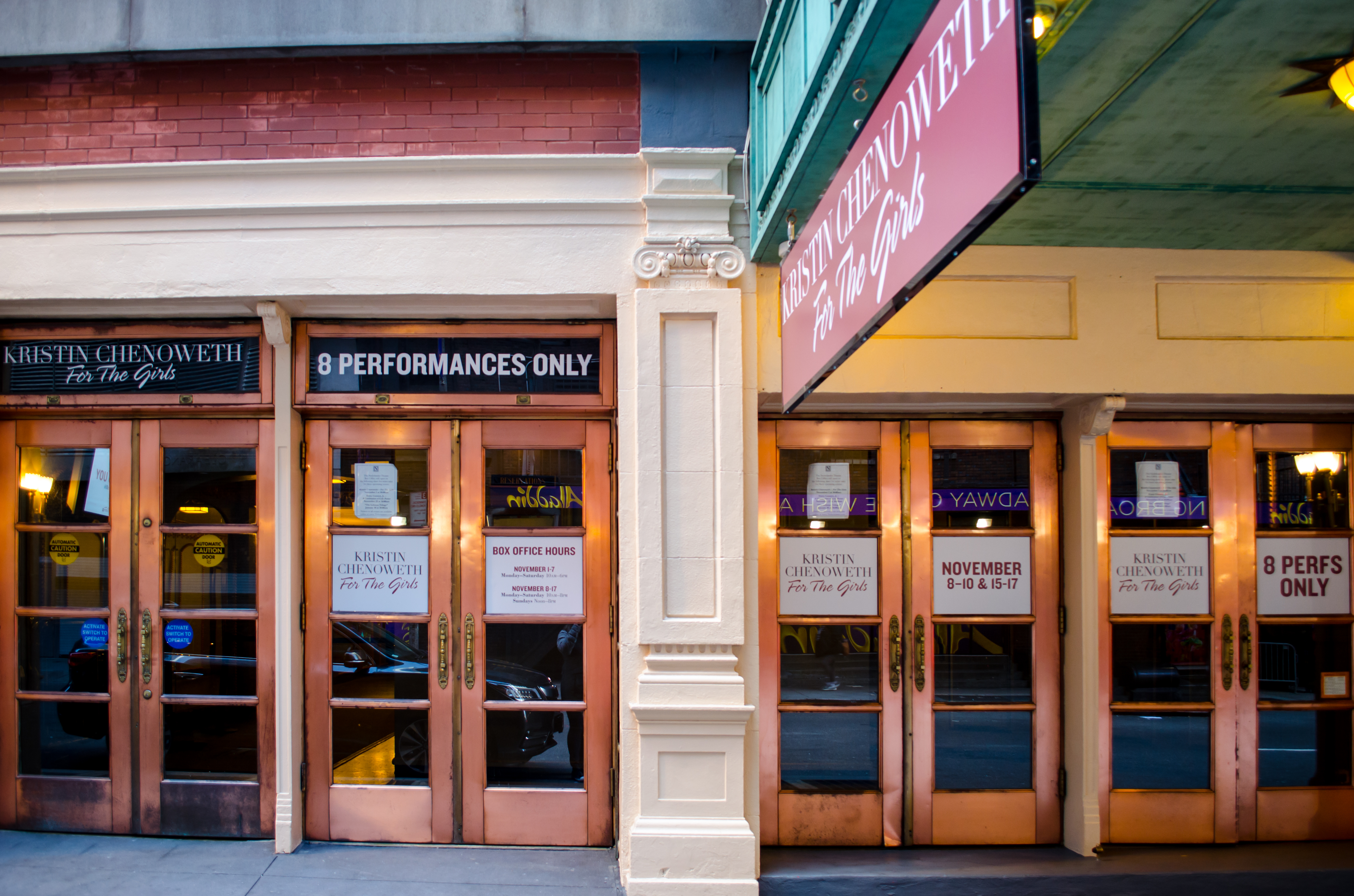 Nederlander Theatre (Broadway) - Theater Information Stage Door