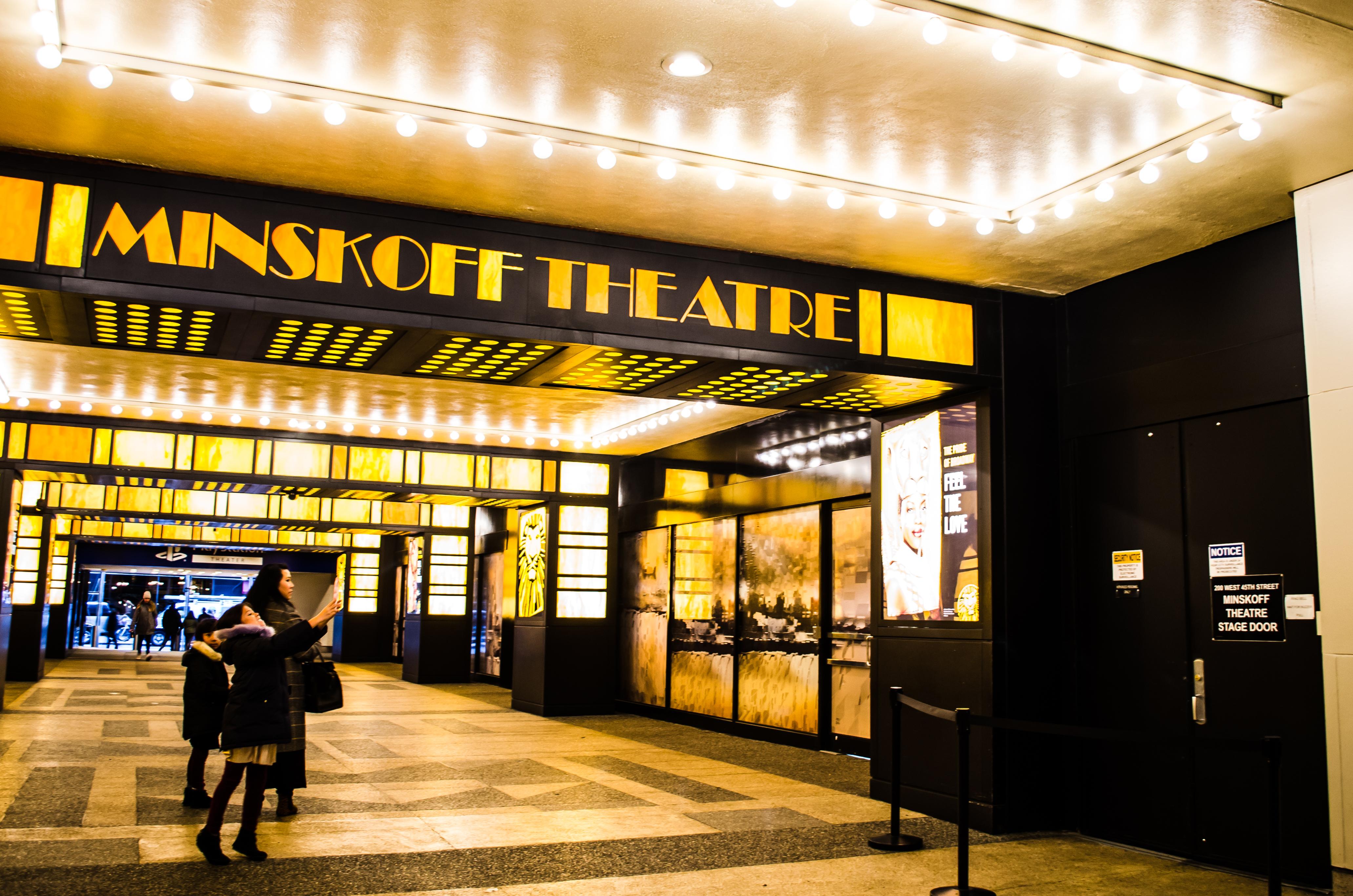 Minskoff Theatre (Broadway) - Theater Information Stage Door