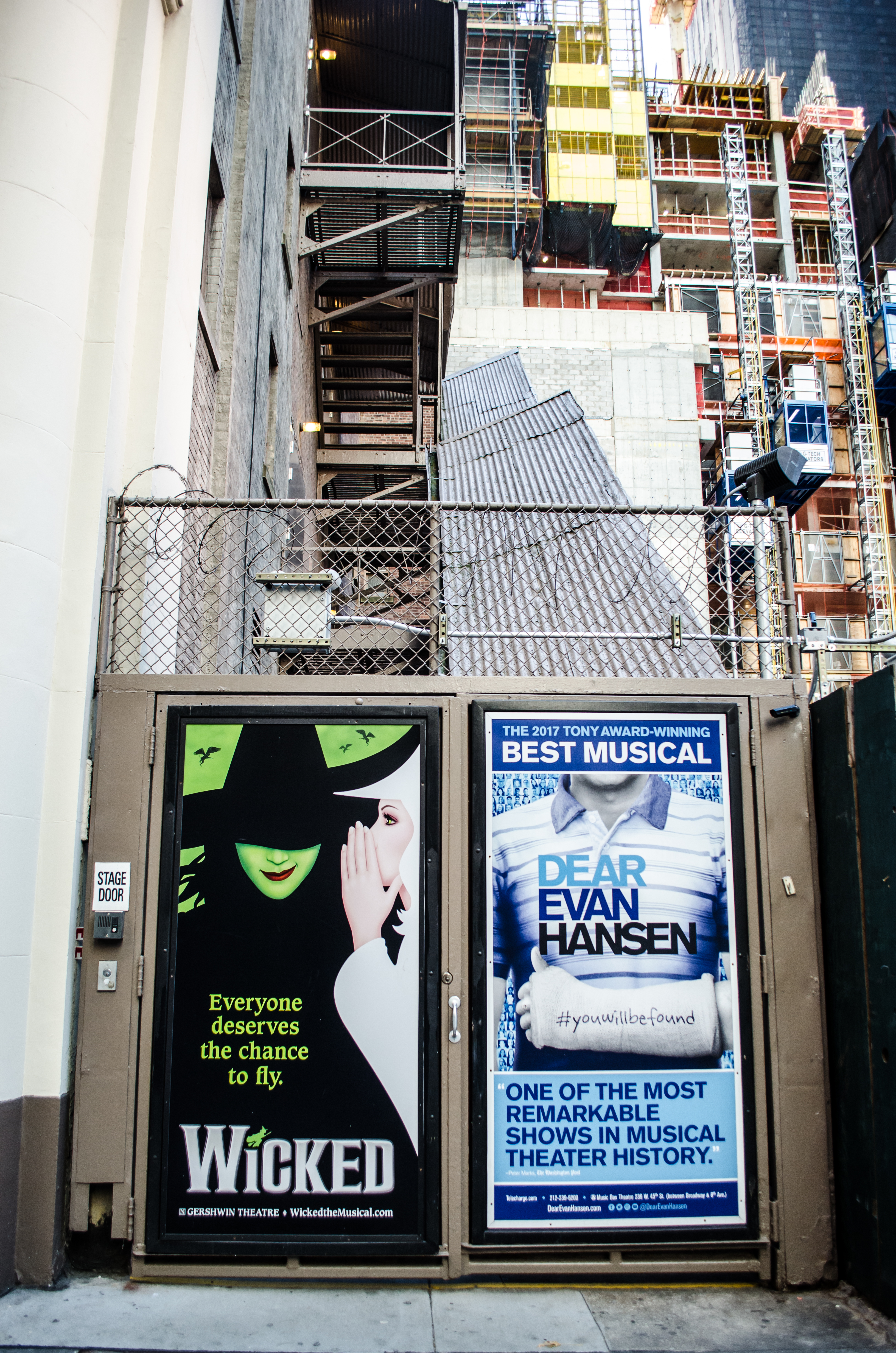 Cort Theatre (Broadway) - Theater Information Stage Door