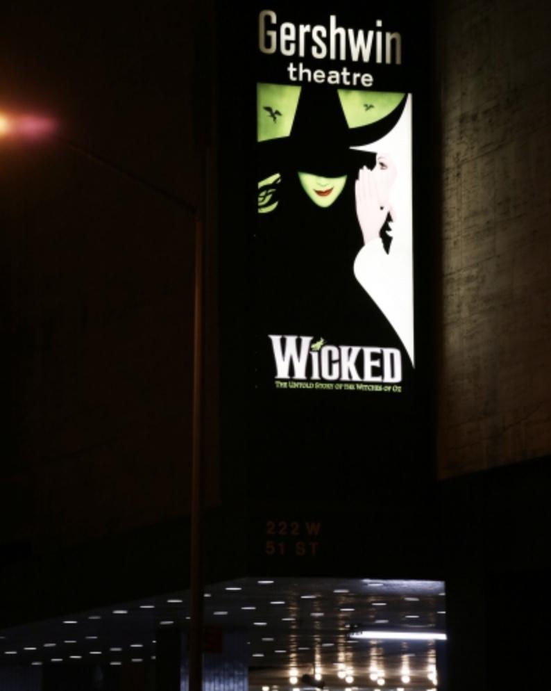 Gershwin Theatre (Broadway) - Theater Information Marquee