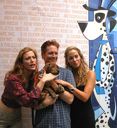 Rachel York, Eric Stolz and Elizabeth Berkley at Broadway Barks! 6