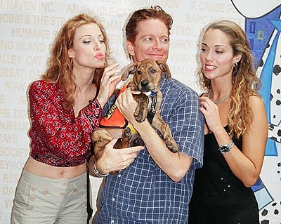 Rachel York, Eric Stoltz, and Elizabeth Berkley at Broadway Barks! 6