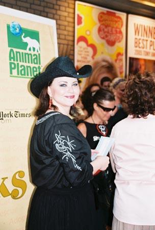 Delta Burke (Steel Magnolias)  at Broadway Barks! 7