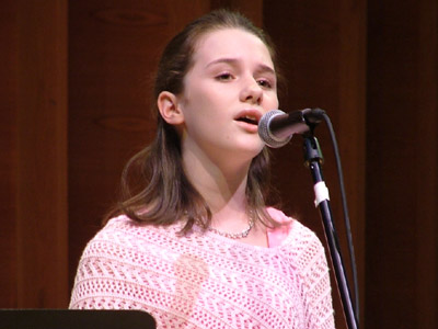 The vocal powerhouse, Addison Timlin, performs a song from 'was'