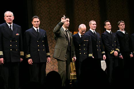 Photo Coverage: Caine Mutiny Court-Martial's Opening Night