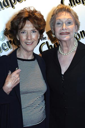 Eileen Atkins and Sian Phillips at The Drowsy Chaperone Opening Night Arrivals