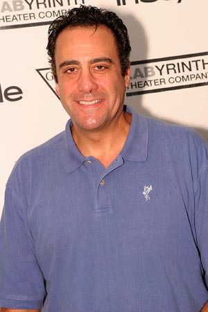 Brad Garrett  at LAByrinth Theater Company Celebrity Charades