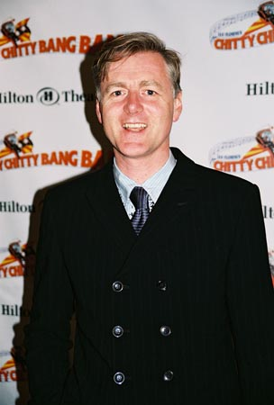 Anthony Ward (Scenic and Costume Designer)  at Chitty Chitty Bang Bang Opening Night Party