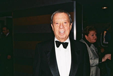 Recipient of the Johnny Mercer Foundation Award, Cy Coleman at Theatre Legend Cy Coleman Passes Away at 75