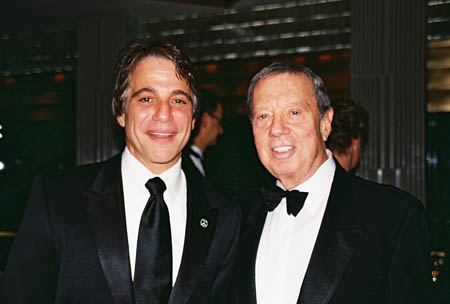 Tony Danza and Cy Coleman at Theatre Legend Cy Coleman Passes Away at 75