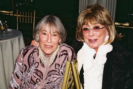 Mary Rodgers Guettel and Phylis Newman at Theatre Legend Cy Coleman Passes Away at 75