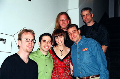 Joe Brady (Drums), Robert Diamond (Editor-in-Chief), Susan,
