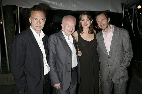 Jonathan Kent (Director), Ian McDiarmid, Cherry Jones and Ralph Fiennes at Opening Night at Faith Healer