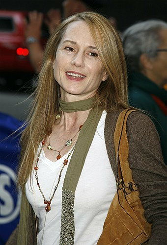 Holly Hunter at Opening Night at Faith Healer