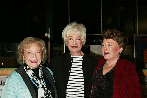 Photo Coverage Bea Arthur Betty White And Rue Mcclanahan