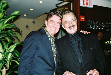Photo Coverage: Cast of La Cage Welcomes Robert Goulet