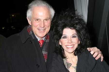 John & Sandy Gabriel at Opening Night Arrivals at 'The Right Kind of People'