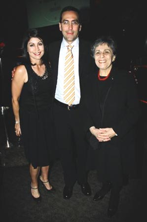 Caroline Hirsch Andrew Fox Arlene Alda  at Guild Hall Honors Sheldon Harnick