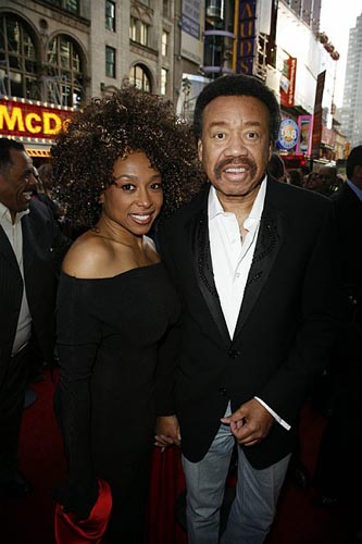 Maurice White with Girlfriend
