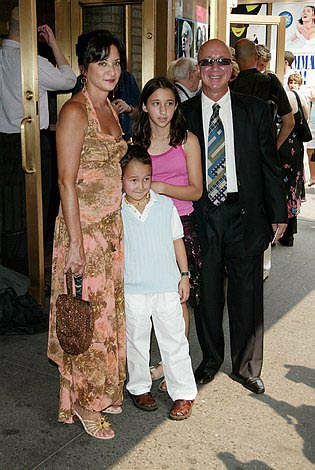 Paul Shaffer and Family at Lennon Opening Night Arrivals