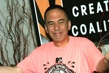 Gilbert Gottfried at Lennon Visited by Members of the Creative Coalition