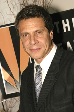 Andrew Cuomo at Lennon Visited by Members of the Creative Coalition