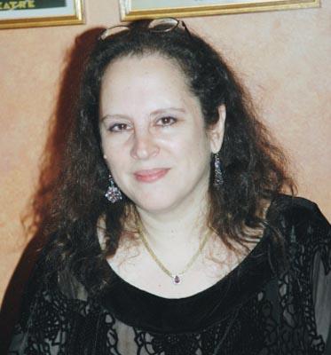 Lyricist Mindi Dickstein at Little Women CD Signing